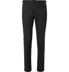Maison Margiela Linen and Wool-Blend Trousers