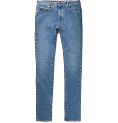 Maison Margiela Slim-Fit Distressed Denim Jeans