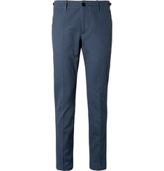 Maison Margiela Blue Slim-Fit Avio Cotton-Twill Suit Trousers