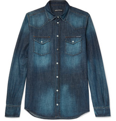 Dolce & Gabbana Slim-Fit Denim Shirt