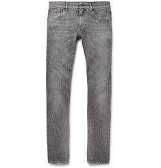 Dolce & Gabbana Skinny-Fit Distressed Stretch-Denim Jeans