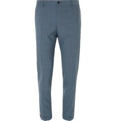 Dolce & Gabbana Slim-Fit Cropped Stretch Virgin Wool Trousers
