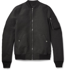 Rick Owens Flight Canvas Bomber Jacket