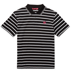 McQ Alexander McQueen Slim-Fit Striped Cotton-Piqué Polo Shirt