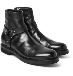 Rick Owens - Leather Harness Boots