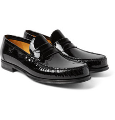 Dolce & Gabbana - Patent-Leather Penny Loafers