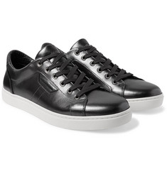 Dolce & Gabbana - Metallic Leather Sneakers
