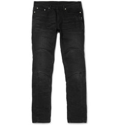 Neil Barrett Stretch-Denim Biker Jeans