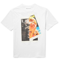 Neil Barrett Rocky Elton Printed Cotton-Jersey T-Shirt