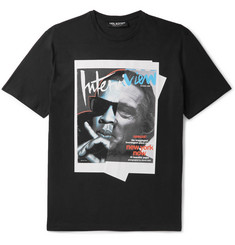 Neil Barrett Jay De Niro Slim-Fit Printed Cotton-Jersey T-Shirt