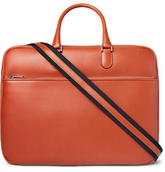 Valextra Soft Avietta Pilotina Leather Briefcase