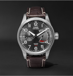 Oris Pro Pilot Calibre 111 Stainless Steel and Alligator Watch