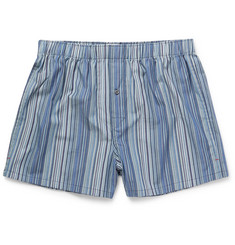 Paul Smith - Striped Cotton Boxer Shorts