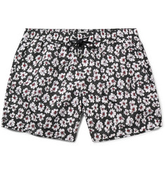 Paul Smith Slim-Fit Mid-Length Floral-Print Swim Shorts