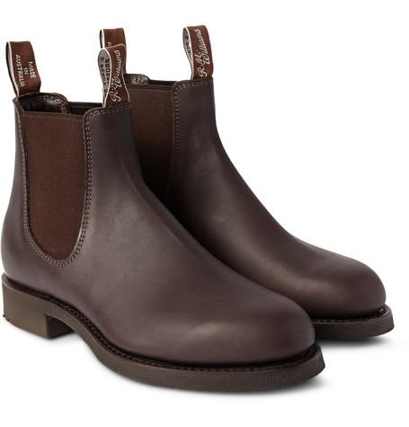 5f17ebffb94 R.M.Williams - Gardener Whole-Cut Leather Chelsea Boots