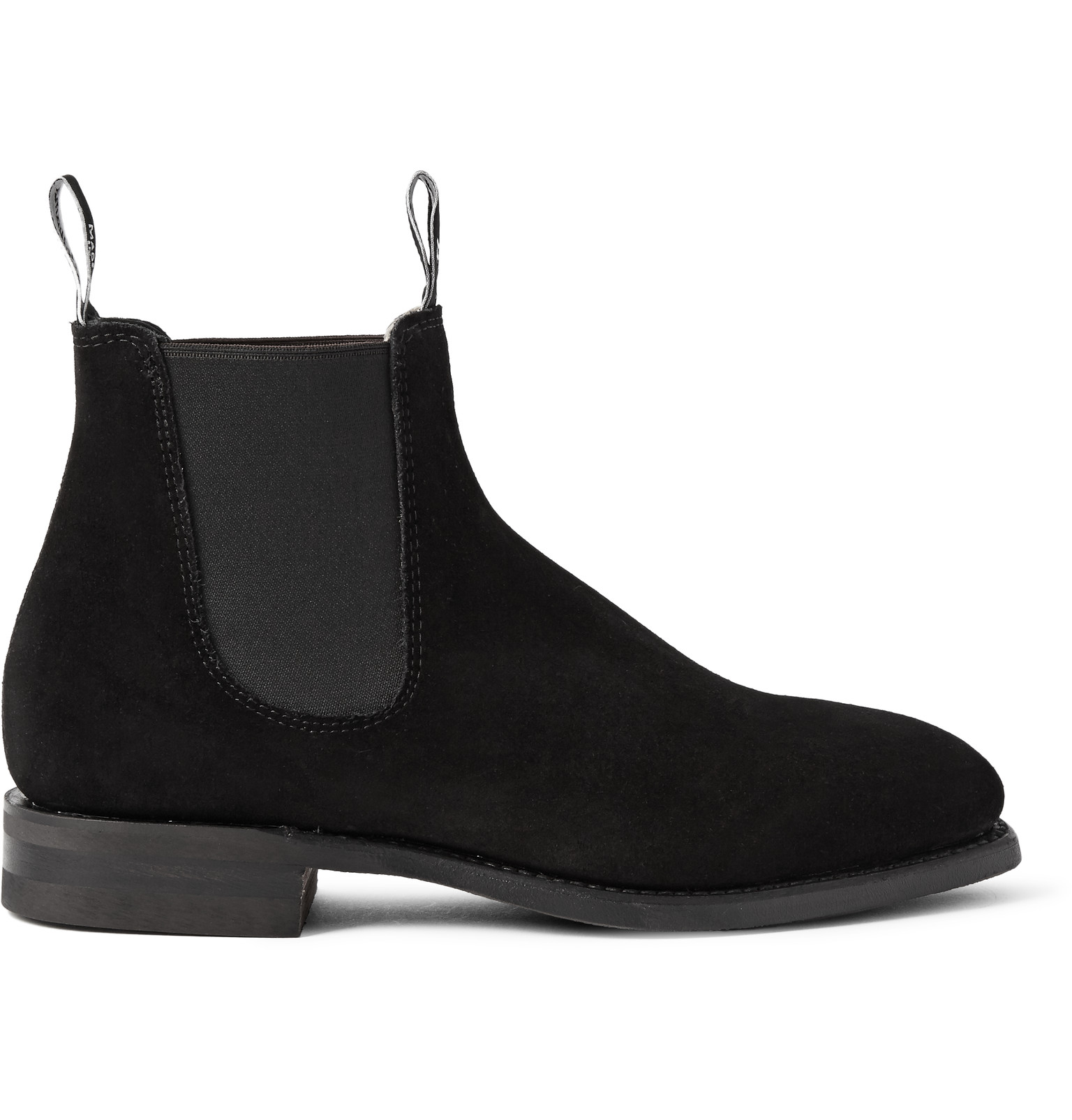 b0a9f58edebe12 R.M.Williams - Comfort Craftsman Suede Chelsea Boots