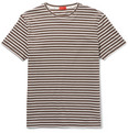 Isaia - Slim-Fit Striped Cotton-Jersey T-Shirt