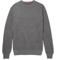 Isaia Mélange Cotton Sweater