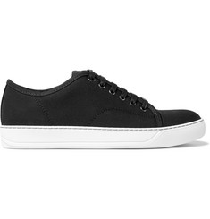 Lanvin Cap-Toe Canvas Sneakers
