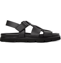 Lanvin Matte-Leather Sandals