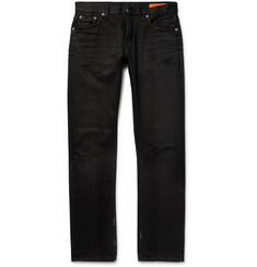 Jean Shop - Mick Slim-Fit Distressed Denim Jeans