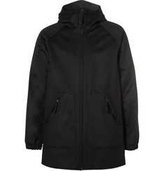Aspesi Wool Hooded Coat