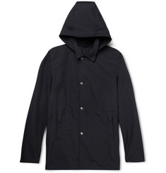 Aspesi Cotton-Blend Hooded Jacket