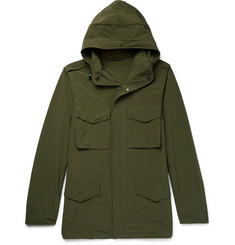 Aspesi Shell Hooded Field Jacket
