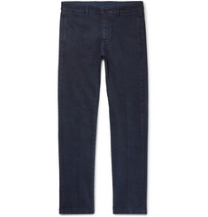 Massimo Alba - Slim-Fit Stretch-Cotton Twill Trousers