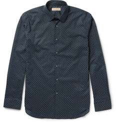 Burberry Slim-Fit Printed Cotton Shirt