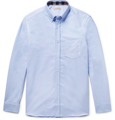 Burberry Slim-Fit Button-Down Collar Cotton Oxford Shirt