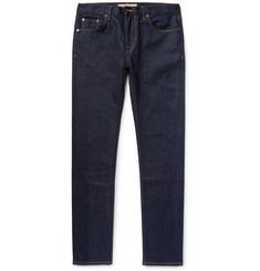 Burberry - Slim-Fit Selvedge Stretch-Denim Jeans