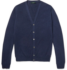 Incotex Knitted Cotton Cardigan