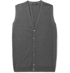 Incotex Knitted Cotton Vest
