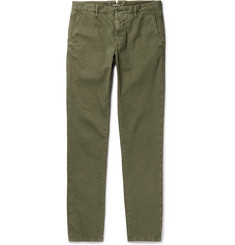 Incotex Slim-Fit Stretch-Cotton Corduroy Chinos