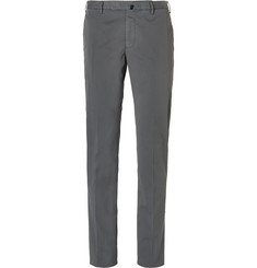 Incotex - Slim-Fit Stretch-Cotton Chinos