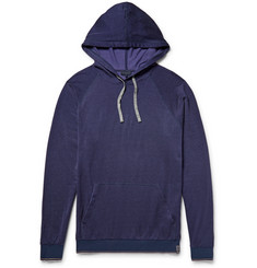 Lanvin - Loopback Cotton-Blend Jersey Hoodie