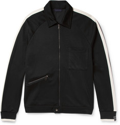 Lanvin Slim-Fit Jersey Zip-Up Sweatshirt