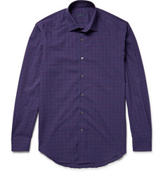 Lanvin Slim-Fit Checked Cotton Shirt