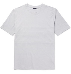 Lanvin Panelled Cotton and Cashmere-Blend T-Shirt