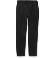 Lanvin Slim-Fit Tapered Cotton-Jersey Trousers