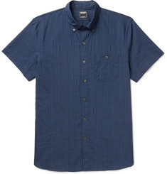 Todd Snyder Slim-Fit Button-Down Collar Striped Cotton Shirt