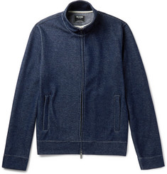 Todd Snyder Cotton-Blend Jersey Zip-Up Sweatshirt