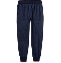 Todd Snyder Slim-Fit Tapered Mélange Cotton-Blend Jersey Sweatpants
