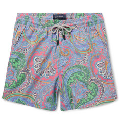 Etro - Short-Length Paisley-Print Swim Shorts