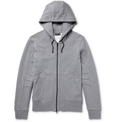 Belstaff Fleming Loopback Cotton-Jersey Zip-Up Hoodie