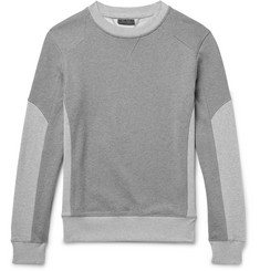 Belstaff Matterley Two-Tone Loopback Cotton-Jersey Sweatshirt