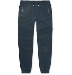 Belstaff Ashdown Slim-Fit Tapered Cotton-Jersey Sweatpants