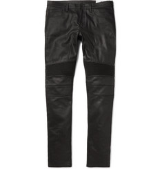 Belstaff Eastham Slim-Fit Coated Stretch-Denim Jeans