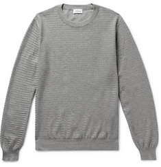 Brioni Textured-Cotton Sweater